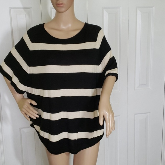 LOFT Tops - Striped Blouse